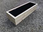 Cuboid Decking Planter 1500mm x 400mm 2 Tier