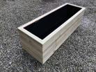 Cuboid Decking Planter 1900mm x 400mm 3 Tier