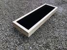 Cuboid Decking Planter 1400mm x 400mm 1 Tier