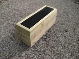 Cuboid Decking Planter 2000mm x 300mm 3 Tier