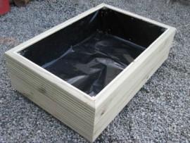 Cuboid Decking Planter 1600mm x 500mm 2 Tier